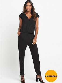 v-by-very-petite-crossover-front-jersey-jumpsuit