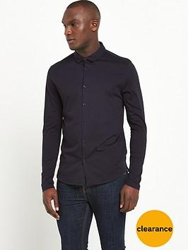 river-island-long-sleeved-button-through-jersey-shirt