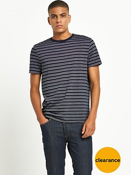 river-island-jacquard-mens-t-shirt-ndash-navy