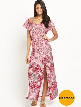 v-by-very-print-crochet-trim-jersey-maxi-dress