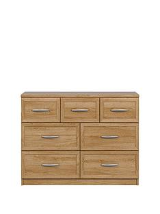 Oslo 3 + 4 Chest of Drawers