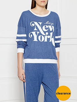 wildfox-miss-you-new-york-sweatshirt-blue