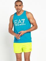 EA7 Big Logo Vest