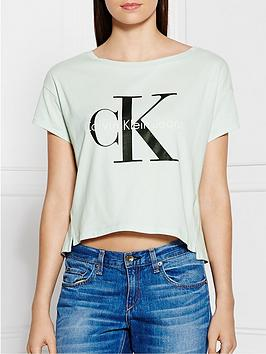 calvin-klein-re-isssue-square-cut-tee-blue