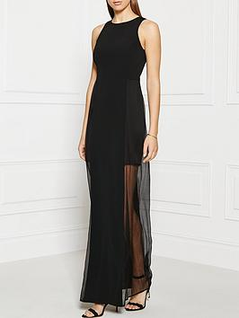 grace-mmxiii-chloe-paneled-silk-chiffon-gown-black