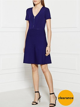 sonia-by-sonia-rykiel-v-neck-flared-skirt-dress