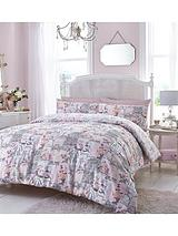 Cafe de Paris Duvet Cover Set - Pink