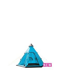 yellowstone-festival-blue-tipi-tent