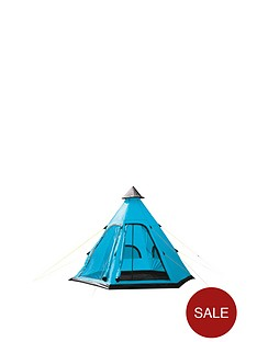 yellowstone-festival-blue-tipi-tent