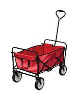 RED FOLDING CAMPING CART