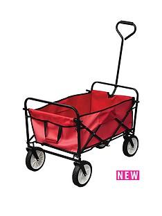 yellowstone-red-folding-camping-cart