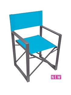 yellowstone-blue-folding-directors-chair