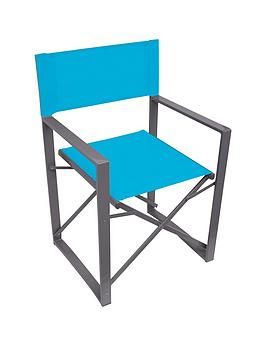 yellowstone-blue-folding-directors-chair