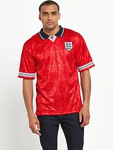 England 1990 World Cup Finals Away shirt
