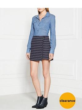 elizabeth-and-james-daniella-printed-wrap-skirt
