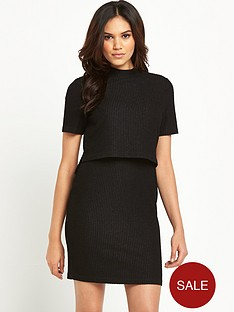 glamorous-2-in-1-knitted-dress