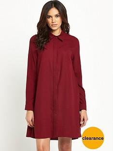 glamorous-shirt-swing-dress