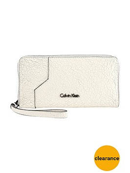 calvin-klein-sadie-cracked-leather-large-zipnbsppurse-white
