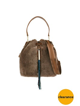 elizabeth-and-james-shearling-cynnie-bucket-bag