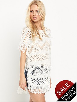 v-by-very-crochet-tassel-fringed-festival-dress