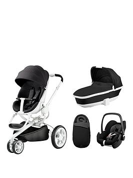quinny-moodd-foldable-carrycot-pebble-car-seat-bundle-black-irony