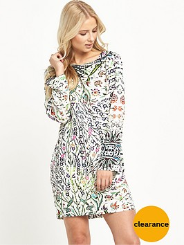 replay-printed-shift-dress