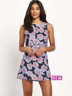 glamorous-glamorous-floral-shift-dress