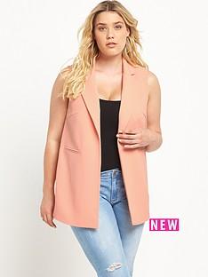 lovedrobe-chiffon-back-waistcoat