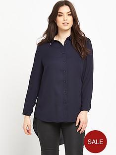lovedrobe-lovedrobe-curve-drop-hem-shirt-with-jewel-collar-detail-sizes-14-26