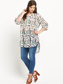 junarose-curve-short-sleeve-printed-tunic-sizes-14-26
