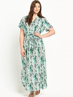 junarose-curve-short-sleeve-maxi-dress
