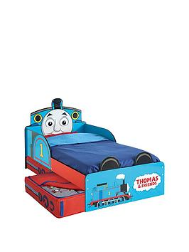 thomas-friends-thomas-the-tank-engine-toddler-bed-with-storage-by-hellohome