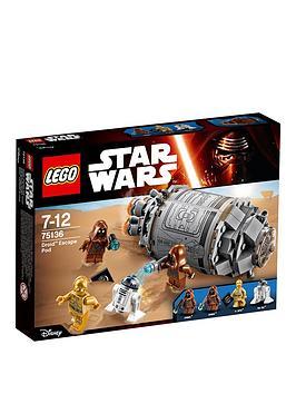 lego-star-wars-droidtrade-escape-pod-75136