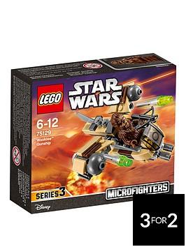 lego-star-wars-microfighters-wookietradenbspgunship-75129