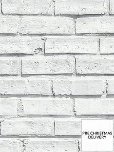 arthouse-white-brick-wallpaper