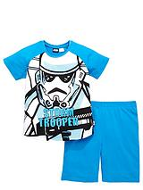 Boys Stormtrooper Shorty Pyjamas