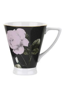 ted-baker-rosie-lee-footed-mug-black