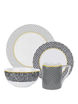 ted-baker-langdon-4-piece-dinner-set-in-black