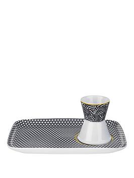 ted-baker-blanchard-black-egg-cup-amp-snack-plate