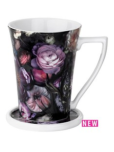 ted-baker-shadow-floral-flared-mug-and-coaster