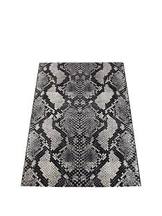 fearne-cotton-snake-rug-grey