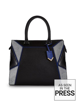 colour-block-geometric-panel-patchwork-bag