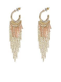 river-island-bead-and-chain-detail-hooped-earrings