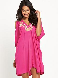 v-by-very-embroidered-batwingnbspbeach-dress