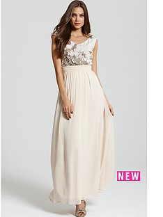 little-mistress-heavily-embellished-cream-and-gold-maxi-dress
