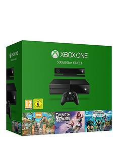 xbox-one-kinect-bundle-with-kinect-sports-rivals-zoo-tycoon-and-dance-central
