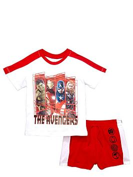 marvel-boys-avengers-t-shirt-and-shorts-set