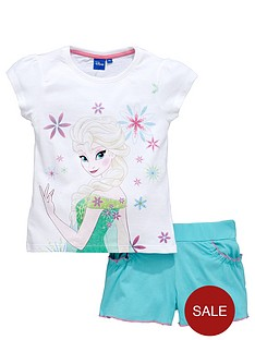 disney-frozen-girls-elsa-t-shirt-and-shorts-set
