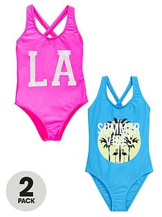 v-by-very-girls-cross-back-swimsuits-2-pack
