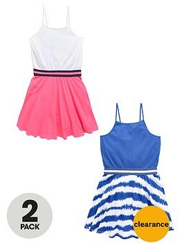 v-by-very-girls-rib-waist-skater-dresses-2-pack